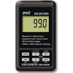 DS-2013SD Noise Dosimeter + Data Logger