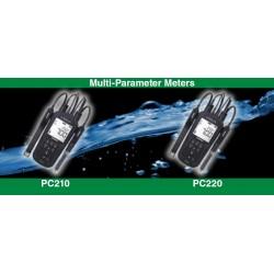 Medidores portáteis de qualidade da água (pH/ORP/EC/TDS/RES/SAL), Série Laqua AO-PC220-K