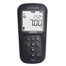 Medidores de mano para Calidad de Agua (pH/ORP/EC/TDS/RES/SAL), Serie Laqua AO-PC220-K