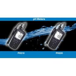 Medidores de mano para Calidad de Agua (pH/ORP/Temp), Serie Laqua AO-pH200