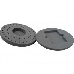 Accesorios para Genie Vortex: Kit de adaptadores para tubos de 0,5 y 1,5 y microplaca H-301