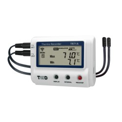 TR71A 2-channel Wireless LAN / USB Temperature Logger