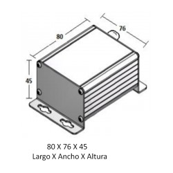 Radon Sensor (Range 0-400 or 0-4000 Bq/m³ & 1-10 Vdc output)