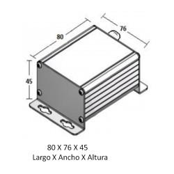 Sensor de Radón (Rango 0-400 ou 0-4000 Bq/m³ e saída 1-10 Vdc)