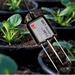 Sensor para conteúdo de água (umidade do solo), CE (condutividade elétrica) e temperatura WET-2