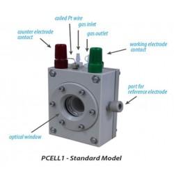 PCELL2 Kit de Bateria Fotoeletroquímica (2 Janelas Ópticas)