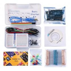 ELEGOO Basic Starter Set compatível com Arduino IDE com guias de tutorial em espanhol para UNO R3 Starter Kit