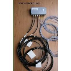F3T3-MicroLog Registrador de Humedad y Temperatura de Suelo