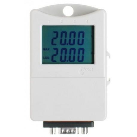 S5021 Registrador de Doble Canal para Voltaje 0-5V con Display