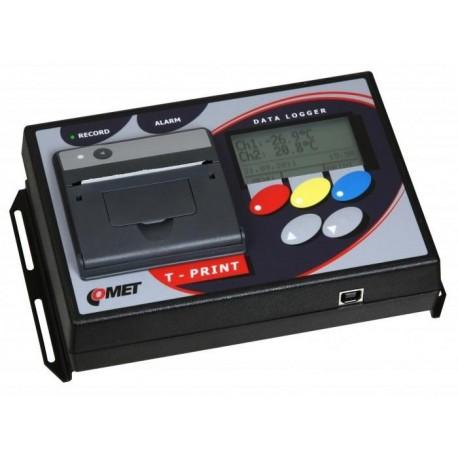 G0221E Registrador de Temperatura con Impresora (2 x Pt1000 de -90 a +260°C)