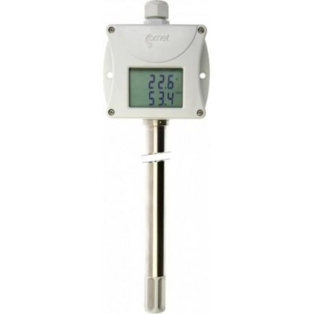 T3117 Temperatura y Humedad Interior y Exterior con Salida 4-20mA