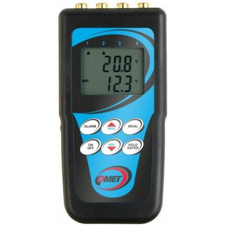 C0141 Four Channel High Accuracy Thermometer for Ni1000 RTD Sensor