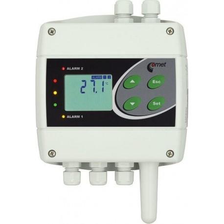 H0530 Sensor de Temperatura Ethernet con dos Salidas de Relé.