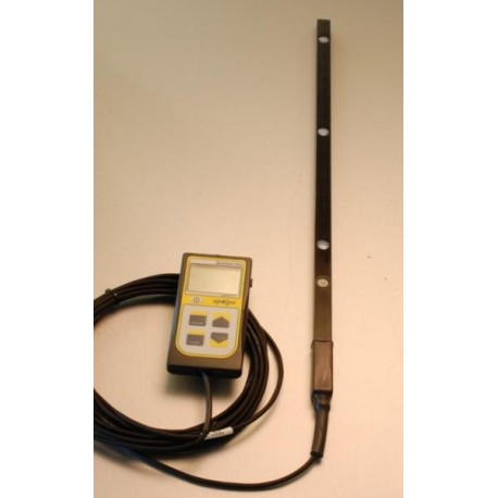 MQ-303 Medidor de mano Apogee para LUZ PAR sobre barra de 50cm con 3 Sensores