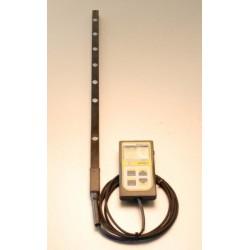 MQ-306 Medidor LUZ PAR con barra 50cm/6 Sensores