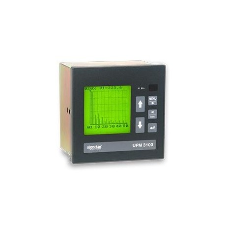 UPM3100 Analizador de Potencia con LCD (DIN 144x144)