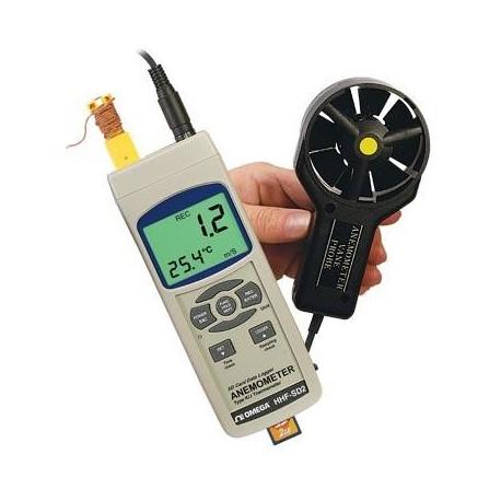 HHF-SD2 Anemómetro de Álabes con Registrador de Datos