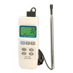 HHF2005HW Anemómetro de hilo Caliente con Registrador de datos