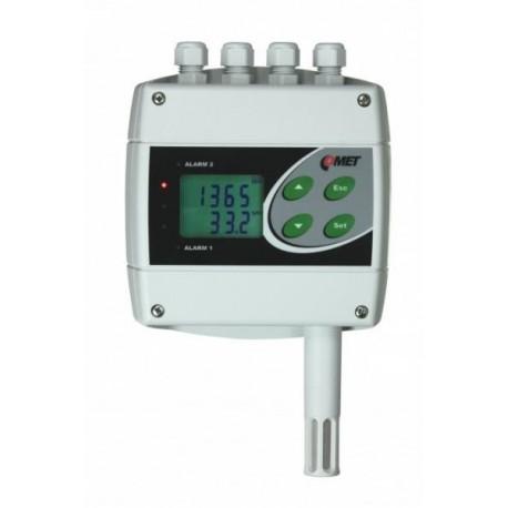 H6320 Transmisor de Temperatura, Humedad y CO2 con dos Salidas de Relés y RS232