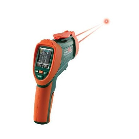 OS-VIR50 Termômetro digital tipo pistola com vídeo infravermelho (-50 a 2200°C)
