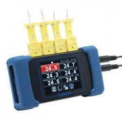 RDXL6SD Data Logger de Temperatura con Seis Canales Portátil