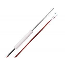 AO-HE/E Sonda de Temperatura de Penetración Cable de Silicona (-50 +200°C)