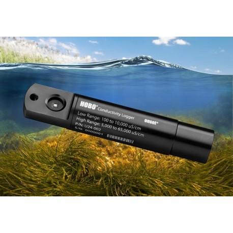 U24-002-C Registrador de Conductividad/Salinidad y Temperatura en Agua Salada (100-55,000 uS/cm)