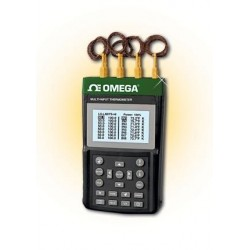 RDXL8 Data logger of portable temperature with 8 channels of thermocouple