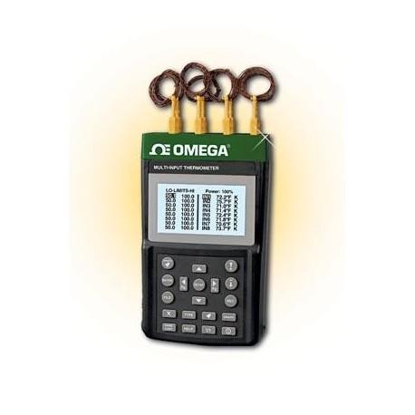 RDXL8 Registrador de Datos de Temperatura Portátil con 8 Canales de Termopar