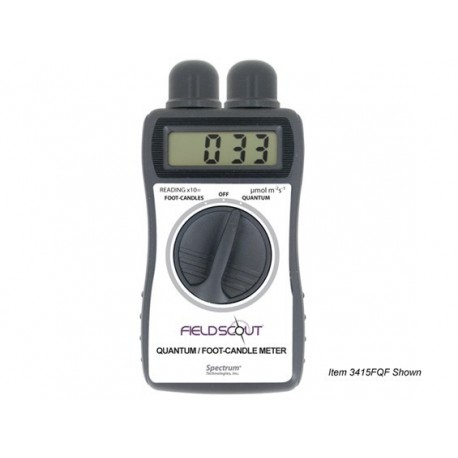3415FQF LightScout Quantum and Foot-Candle Meter