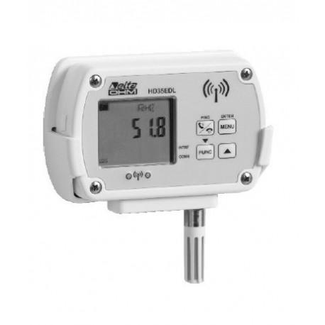 Registrador de Datos Inalambrico (-200ºC ÷ +650ºC Depende de Sonda Utilizada)