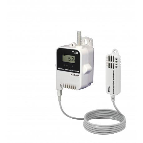 Registrador de Temperatura y Humedad de Amplio Rango