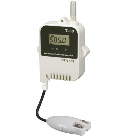 Wireless logger of temperature (Pt100 and Pt1000)
