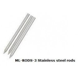 ML-RODS-3  Varillas de Acero inoxidable para ML3 y ML2x