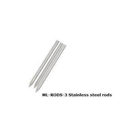 Varillas de Acero inoxidable ML-RODS-3 para ML3 y ML2x
