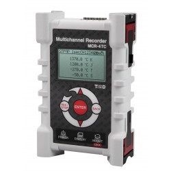 MCR-4TC Registrador para Termopar (K, J, T, S, R)