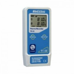TR-81 Wide Range Temperature Data Logger (Pt100 / JPt100)