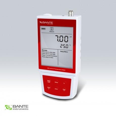 Bante220-ORP Portable pH/mV Meter