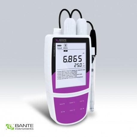 Bante320-UK Medidor Portátil de pH/ORP/Ion