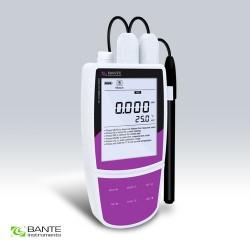 Bante321-F Medidor de iones de Fluoruro portátil profesional, adecuado para aplicaciones al aire libre, precisión: 0.5% F.S.