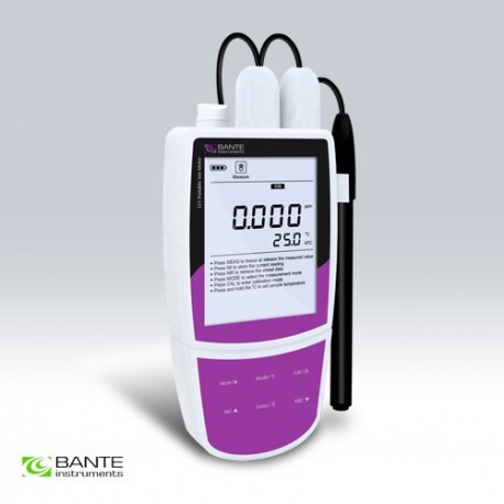 Portable Fluoride Ion Meter