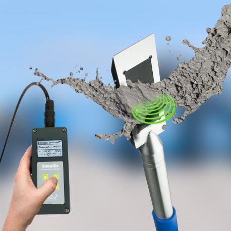 SONO-WZ Medidor de Contenido de Agua en Cemento Fresco