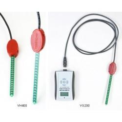 VG-METER-200-BASIC  Medidor digital de Umidade de Solo/Lux/Temp com Sensor VH400 integrado