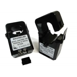 ACT-0024 split-core current sensors transform an AC input current up 100 to 300 Amps to a 5A