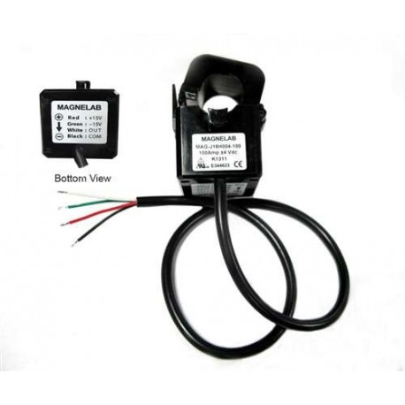 HCT-0016-100 / 100A DC CURRENT SENSOR WITH 0-4V DC OUTPUT