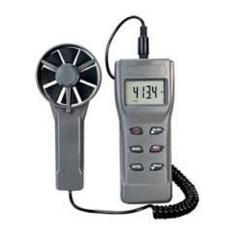 HHF11A Anemómetro con CFM/BTU/Punto de Rocio/Temp/Humedad