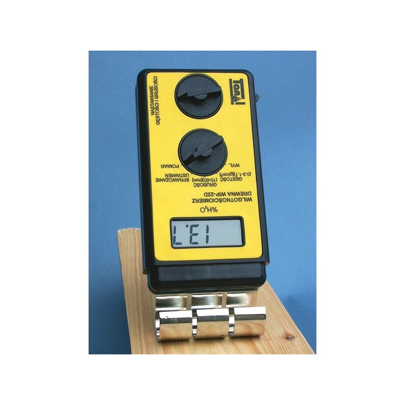 Digital wood moisture meter wip 22d maranata madrid sl for Wood floor moisture meter