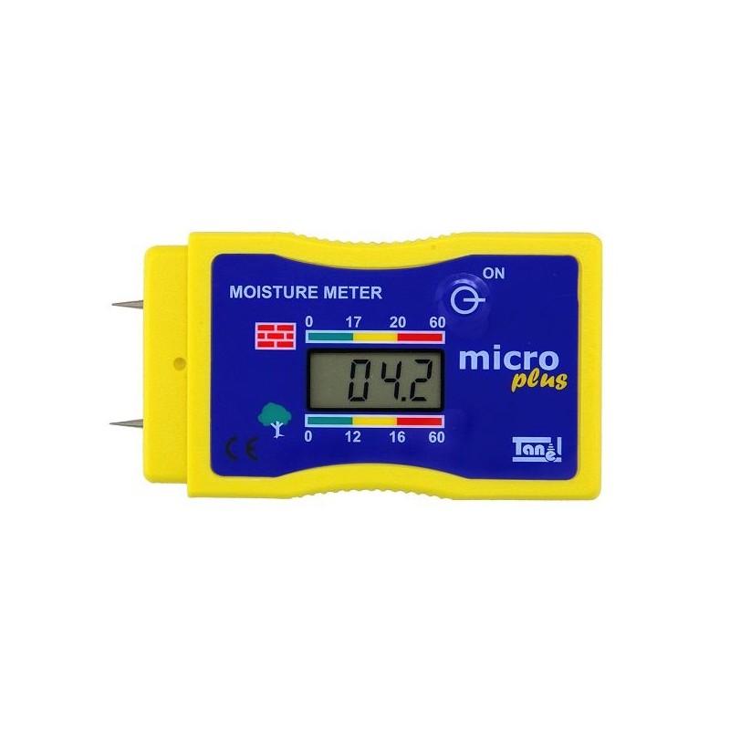Medidor de humedad para madera y hormig n micro - Medidor de humedad ...