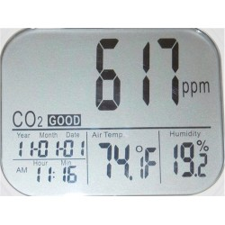 Registrador de Datos WatchDog A160 Temperatura Humedad Relativa y CO2