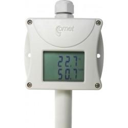 T3113 Temperatura y Humedad Interior y Exterior con Salida 4-20mA